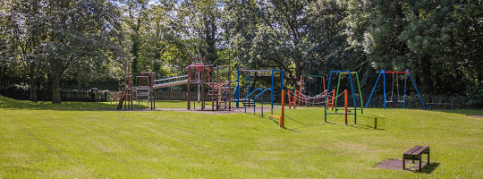 picture of play equipment in a park