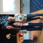 Presentation to category winner Edible Garden Maghull Fruit Meadows