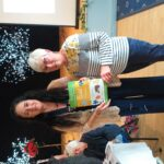 presentation to Communal Garden Gold certificate for Tree View shops