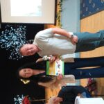 Presentation to category winner Brian Armstrong