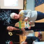 Presentation of Gold certificate to Betty Fletcher