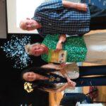 Presentation of Gold certificate to Jill Kemp